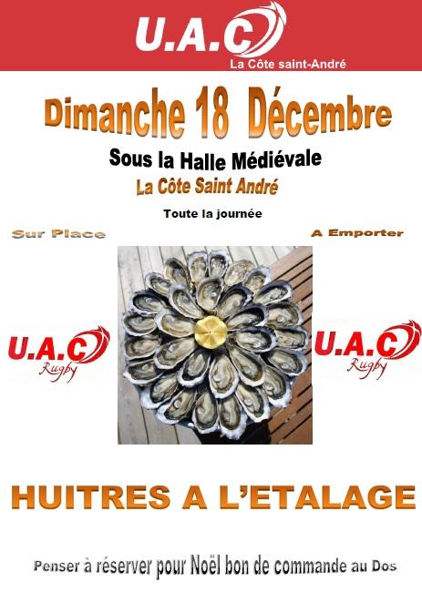 Affiche huitres noel 2016 site
