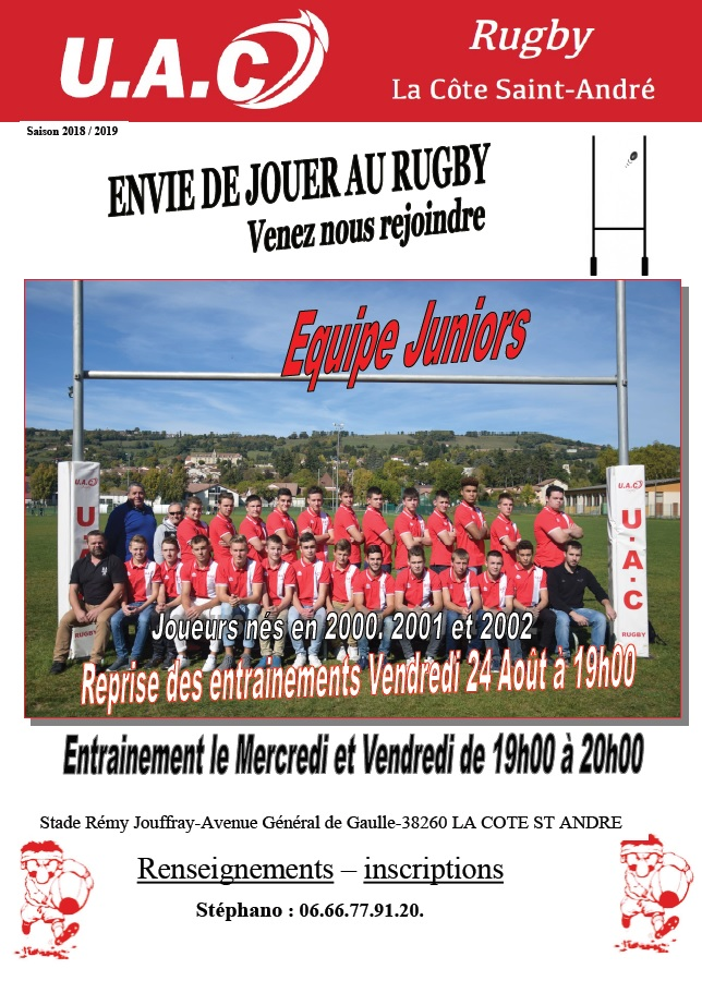 Affiche juniors 2018 2019 le 22 08 2018 jpeg