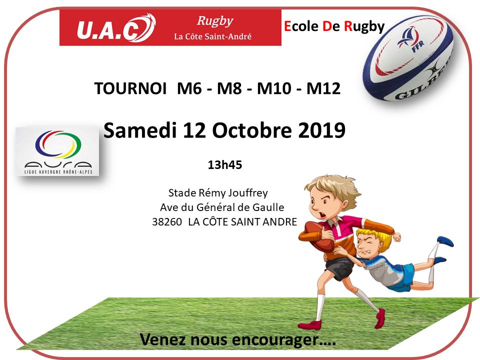 Edr tournoi le 12 ocobre 2019