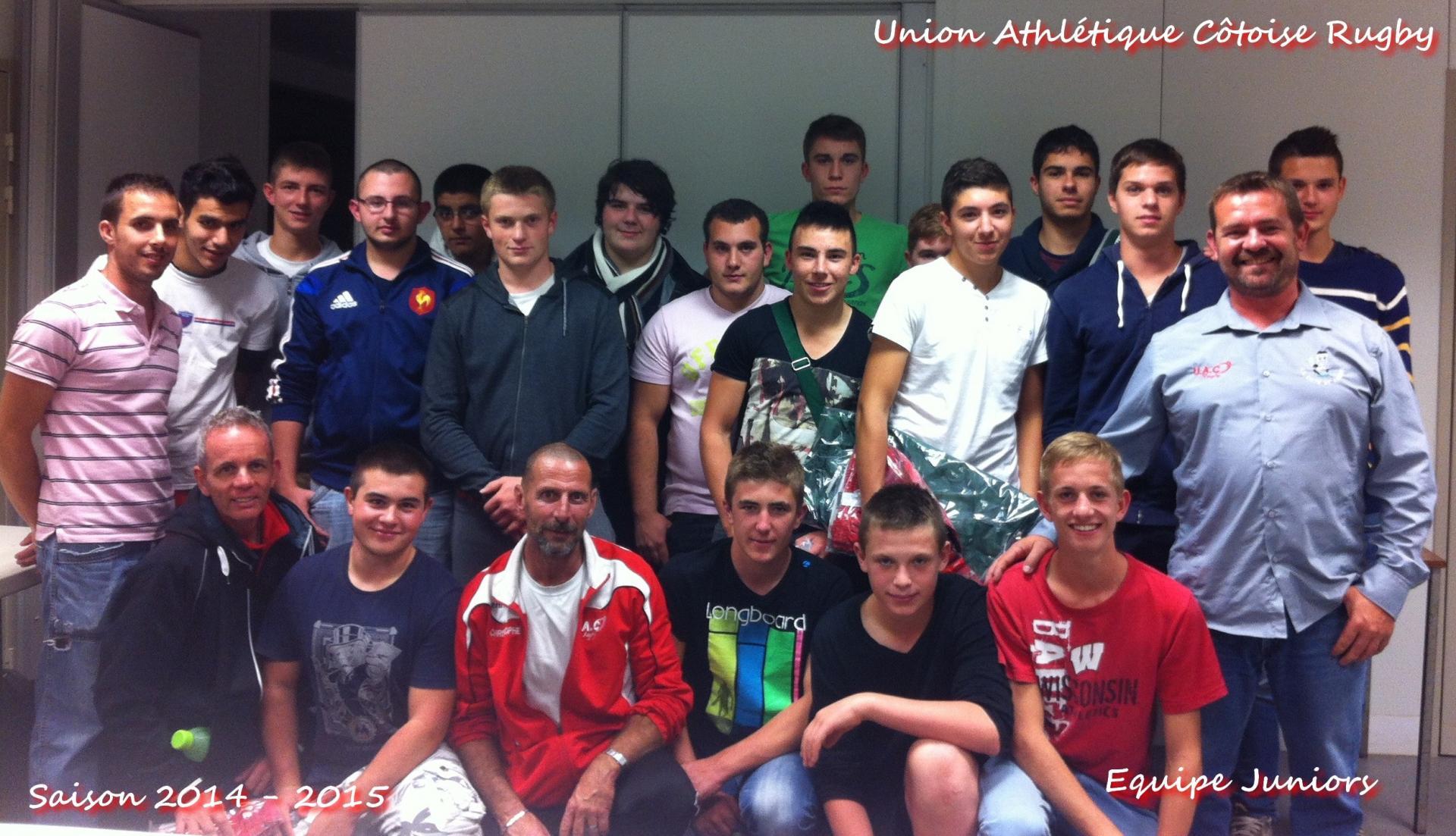 Equipe juniors