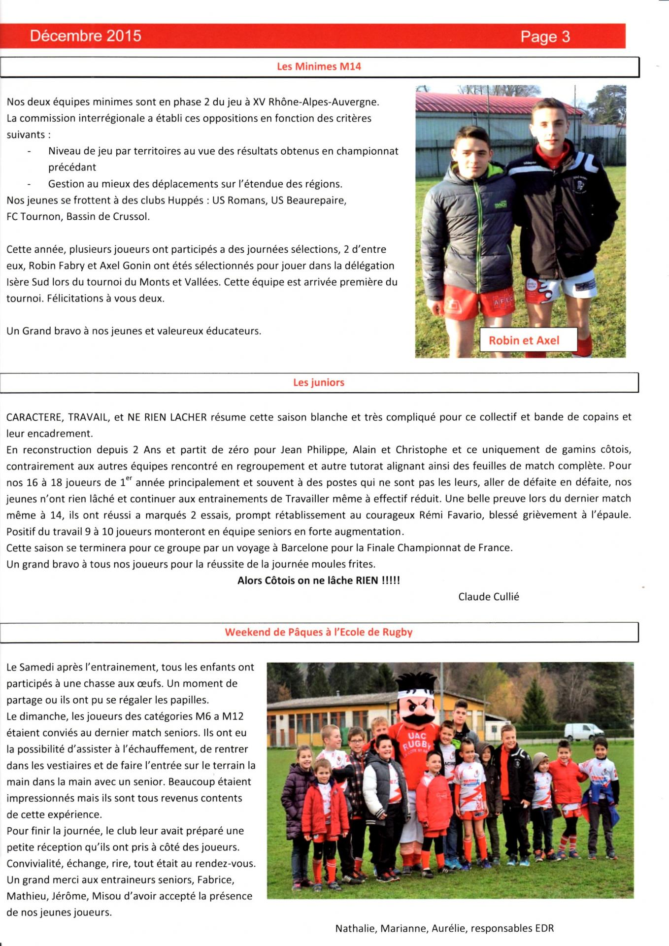 Journal du club p3 n 112