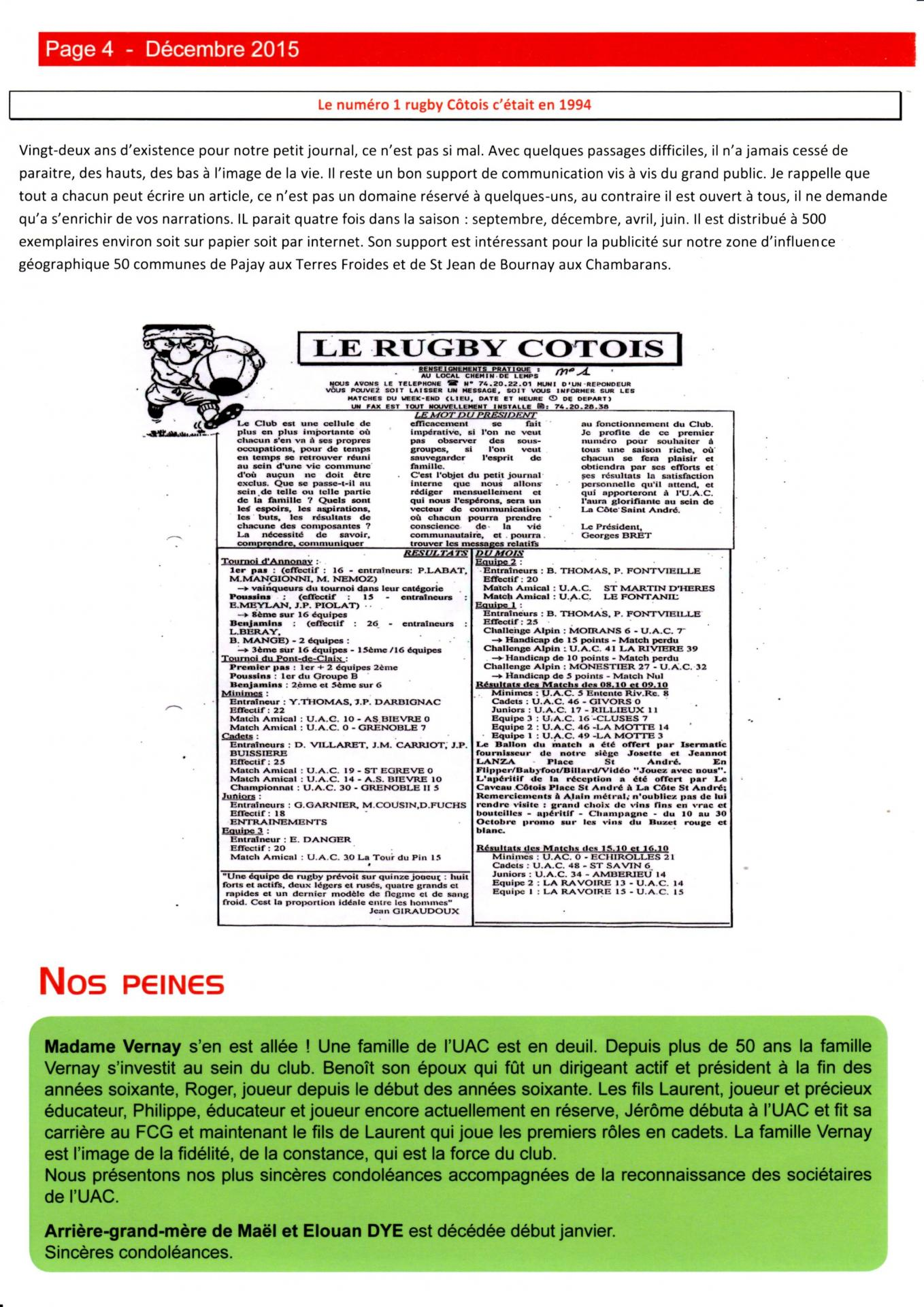Journal du club p4 n 112