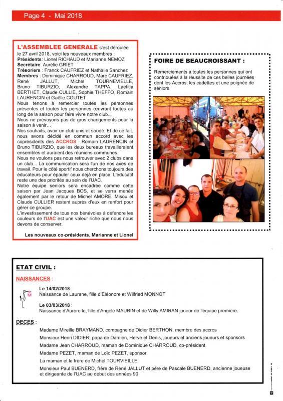 Journal mai 4