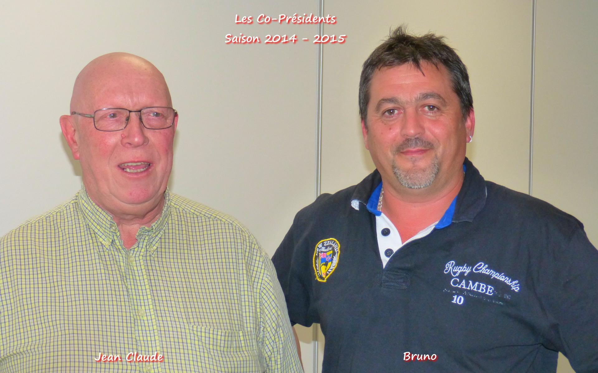 Les co presidents 2014 2015