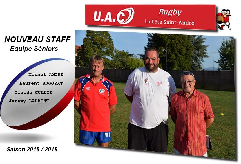 Nouveau staff 2018 2019