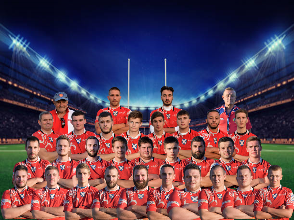 Photo ensemble joueurs uac saison 2019 2020