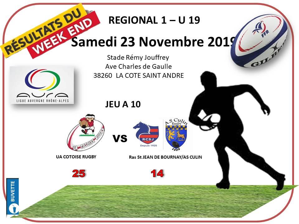 Resultats juniors resultats samedi 23 novembre 2019 13h30 1