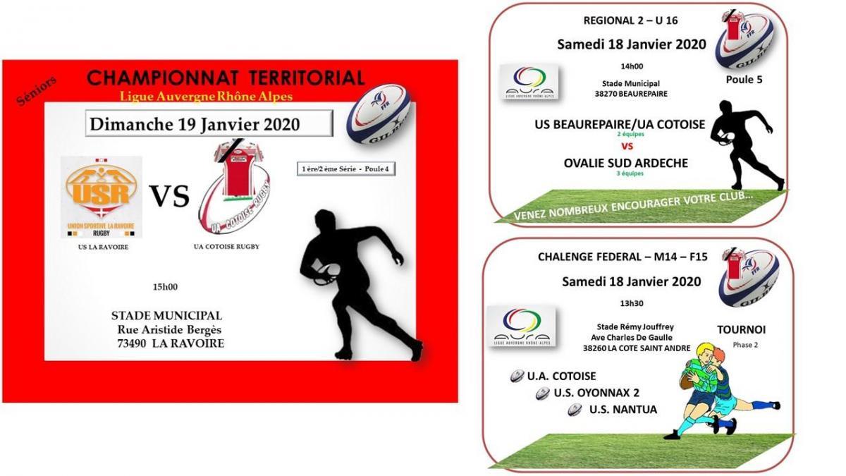 Week end 18 et 19 janvier 2021