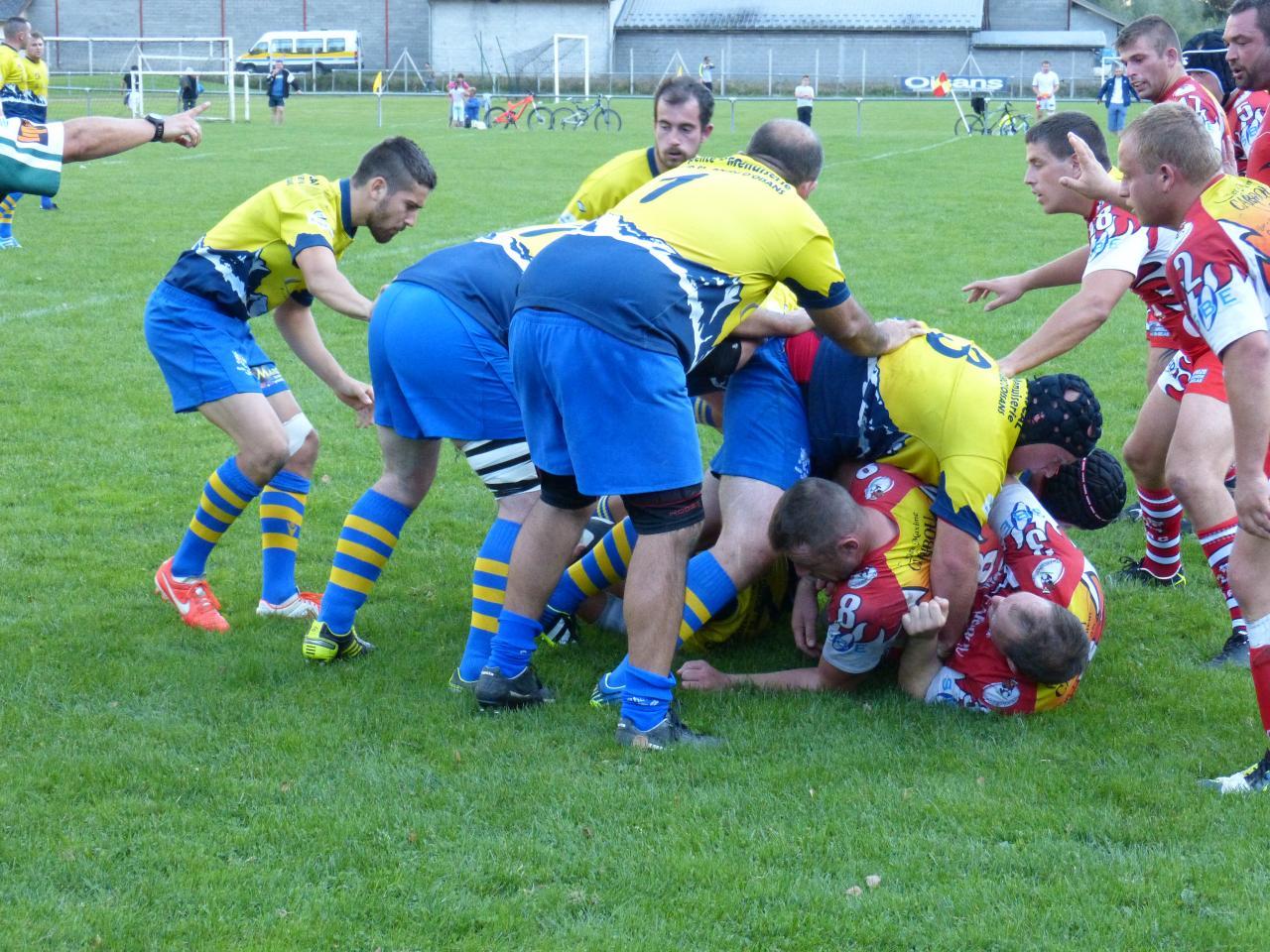Matchs Equipe A saison 2014  2015