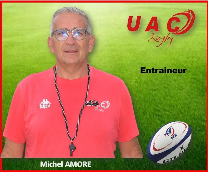 Presentation seniorsentraineur michel amore 2021 2022
